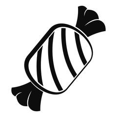 Tasty bonbon icon. Simple illustration of tasty bonbon vector icon for web design isolated on white background