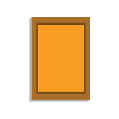 Wall picture icon. Cartoon of wall picture vector icon for web design isolated on white background