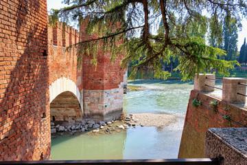 Il ponte di Castelvecchio a Verona