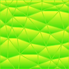 abstract vector stained-glass triangle mosaic background