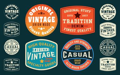 Vintage t shirt typography design tag print