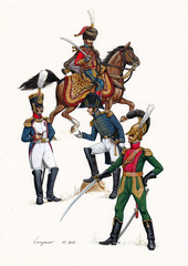 French colonels, 1812.