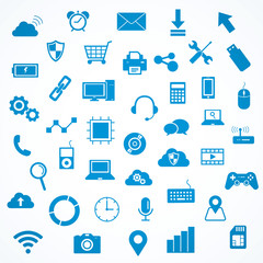 Technology and devices icon