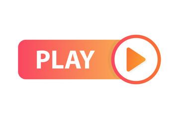 Play button icon.