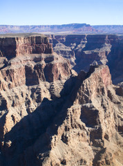 Grand Canyon aerial pictures, west end
