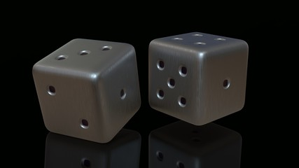 Silver Gaming dices