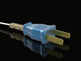 Color US style plug