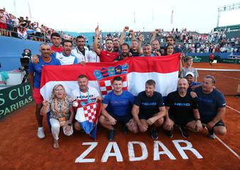 Davis Cup - World Group Semi-Final - Croatia v United States
