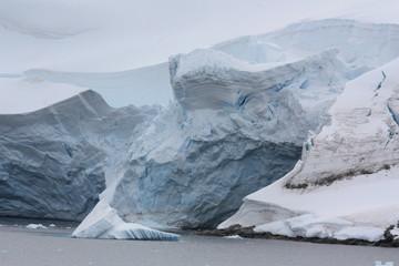 Antarktis- Gletscher