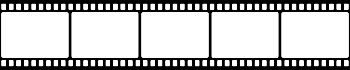 Film strip. Vector