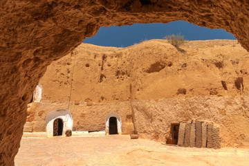 ancient house of the tuareg