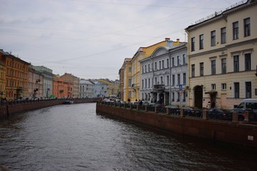 canal in St.Petersburg