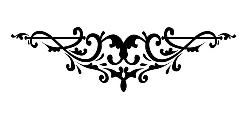 Filigree swirly ornaments. Victorian ornamental swirls and simple lines scrolls. Ornamental caligraphy embellishment. Vintage Calligraphic. Vector illustration.