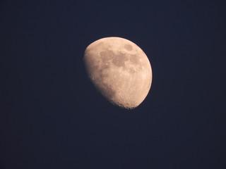 Moon photo edited