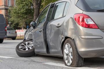 Kleinwagen-Crash