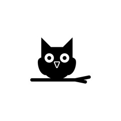owl icon. Element of ghost elements illustration. Thin line  illustration for website design and development, app development. Premium icon