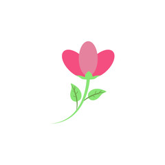 flower colored icon. Element of colored autumn icon for mobile concept and web apps. Colored flower icon can be used for web and mobile
