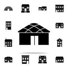 wigwam  icon. house icons universal set for web and mobile