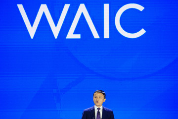 Alibaba Group's attends the WAIC in Shanghai