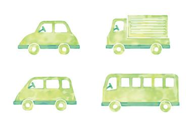 乗り物のイラスト