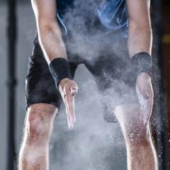 Crossfit Training, Gewichtheben, Mann, 21 Jahre