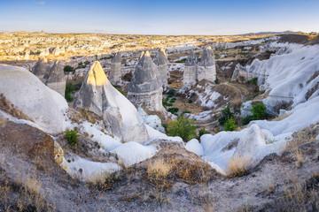 Rock formation near Göreme, Turkey