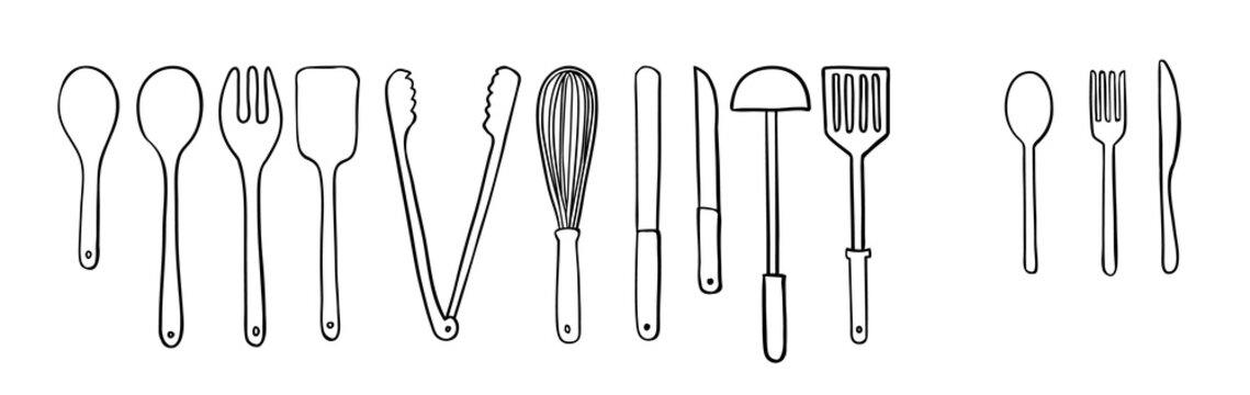 Utensil illustration in vector