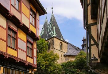 Quedlinburg, St. Benedikt, Markt, Altstadt