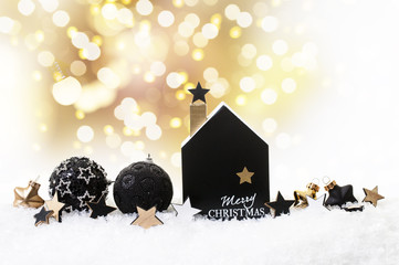 christmas dreams in black