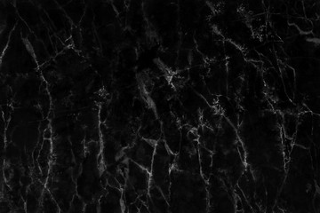 Black marble texture background with high resolution for interior decoration. Tile stone floor in natural pattern.