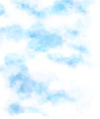 春の空 水彩イラスト素材 背景