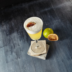 Pisco Sour with Freshly Squeezed Lime Juice