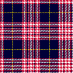 Glen or houndstooth plaid pattern