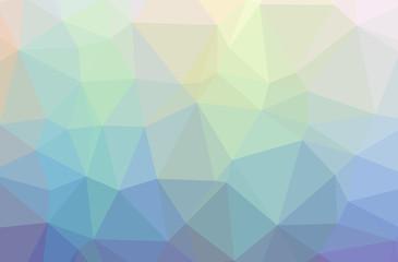 Illustration of blue low poly elegant multicolor background.