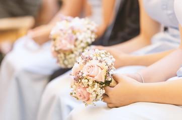 Brautjungfern close up zur individuellen Verwendung