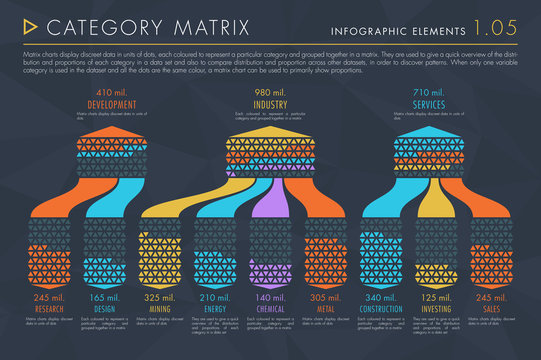 Infographic Elements Collection - Category Matrix