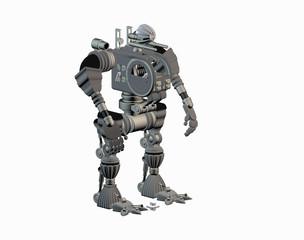 Stählerner Roboter