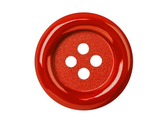 Photo sur Plexiglas Macarons Red button