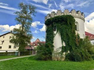 Hafendeckelturm in Isny/Allgäu (Baden-Württemberg)