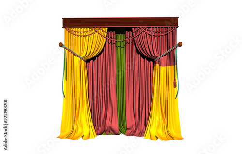 Bunte Vorhange Stock Photo And Royalty Free Images On Fotolia Com