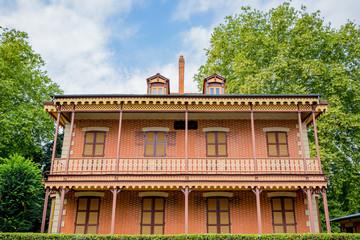 Quartier des maisons anglaise à Vichy