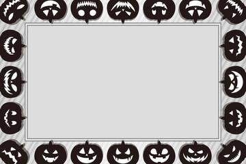 背景素材,グリーティングカード,フォトフレーム,ハロウィン,お化けかぼちゃ,ランタン,仮装パーティー
