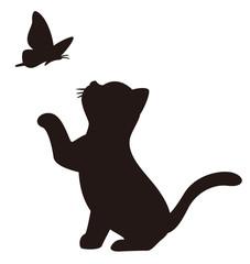 子猫と蝶のアイコンA