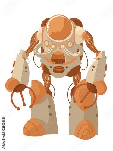 robot science suit