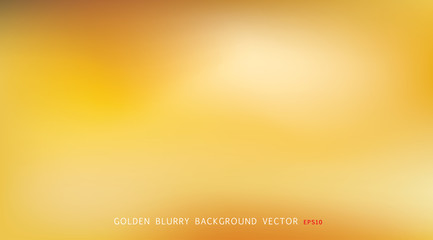gold blur back