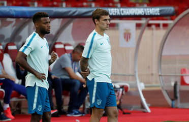 Champions League - Atletico Madrid Training