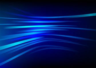 Streak speed, blue line vector background. Motion effect.