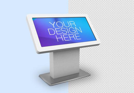 Digital Kiosk Mockup