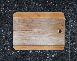 New rectangular wooden cutting board