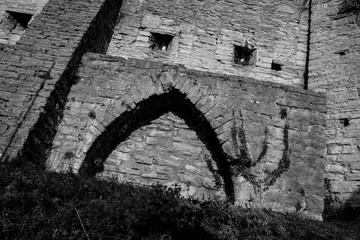 wall, Sweden, Gotland,